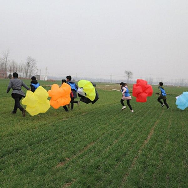 1 st hastighetsträning borrar motstånd fallskärm löpande drag spri Blue