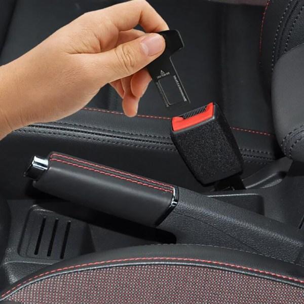 bilsäkerhetsspänne låsplugg klipp säkerhetsbälte kort spänne säkerhetsbälte