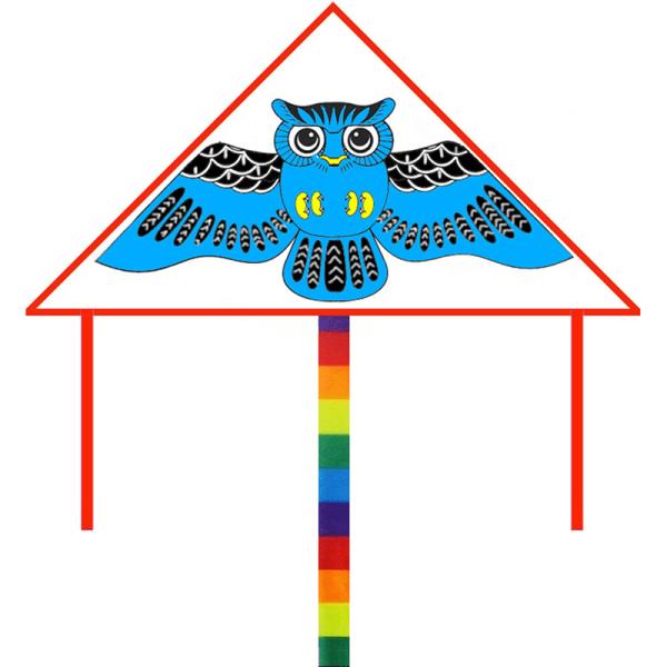 DIY Kite Blank Triangle Kite kan målas nylon för barn med
