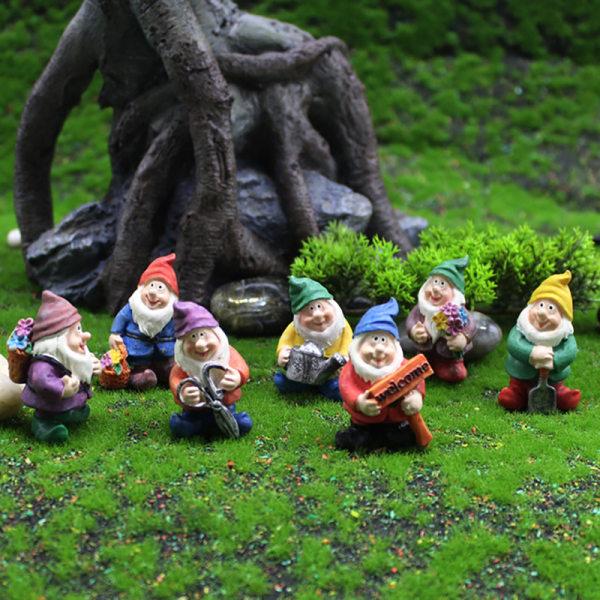DIY Mini Miniature Fairy Garden Ornament Decor Pot Craft Dwarfs
