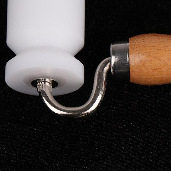 Dual Head Corner Wallpaper Flat Seam Roller Seam DIY-verktyg för S