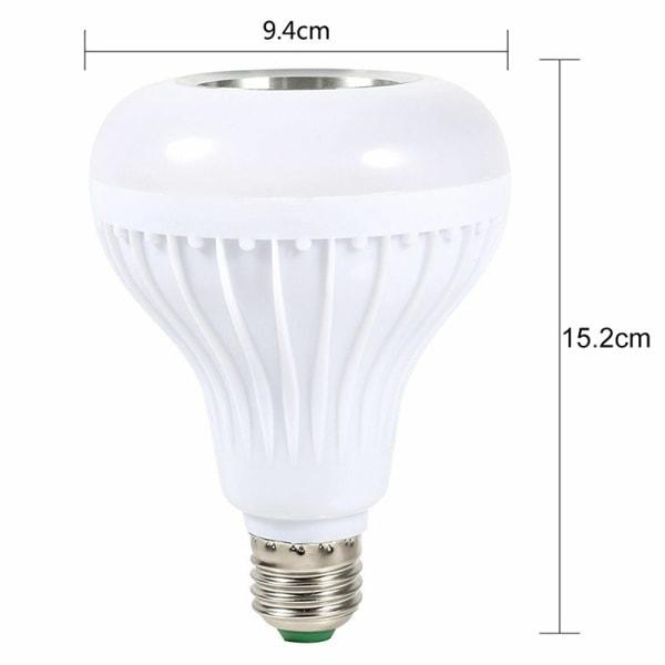 E27 LED-lampa Trådlös Bluetooth-ljudhögtalare Music Playi