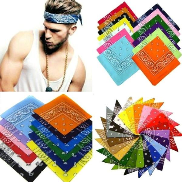 Magic Head Wrap Cotton Head Wrap Neck Scarf Wristband Handkerch