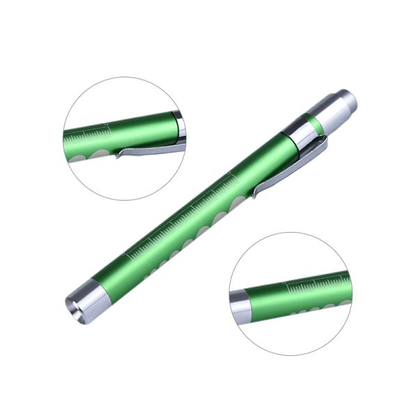 Medicinsk första hjälpen Mini Pen Light ficklampa ficklampa LED EMT Docto