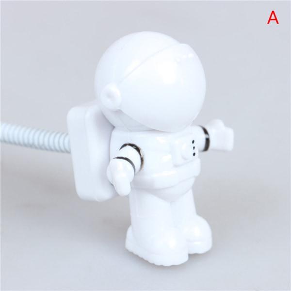 Mini Flexibel Spaceman Astronaut USB Tube LED Night Night Lamp