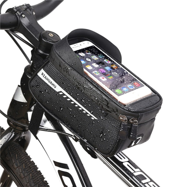 Mountainbike väska stor kapacitet mobiltelefon väska cykling utrustning