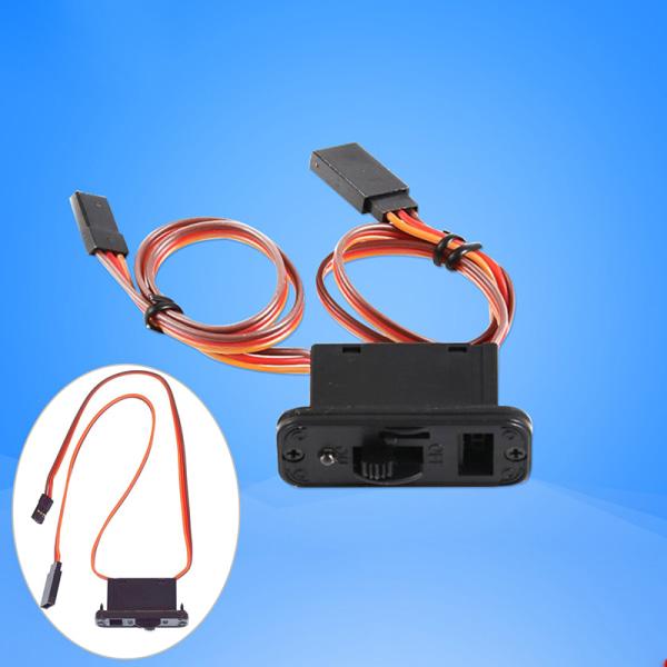 RC-switch med LED-kontakter för JR Futaba batterimotor ESC P