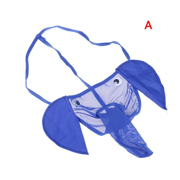 Sexiga män Elephant G-string Underkläder Stringtröja T-Back Pantie