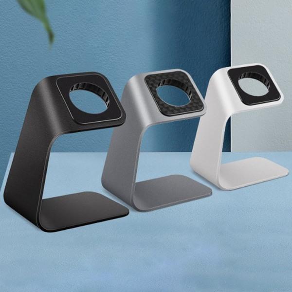 Smart Watch Metal laddningsstativ av aluminium laddare Dock