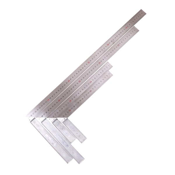 Mätverktyg för rostfritt stål L-fyrkantig vinkellinje