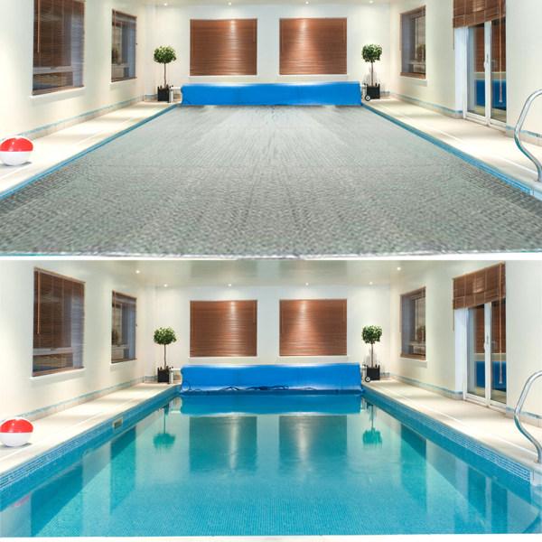 Pool Soltäcke Mark Pool Filt Vattentät Rainpr