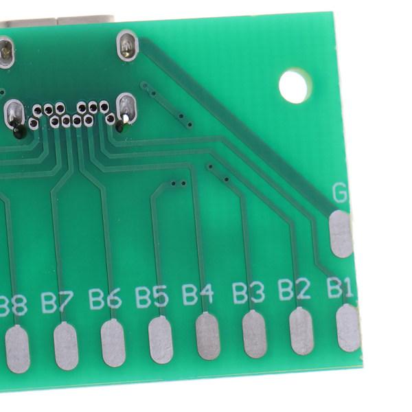 TYPE-C kvinnlig huvudtestkort USB 3.1-kontaktkort med kretskort