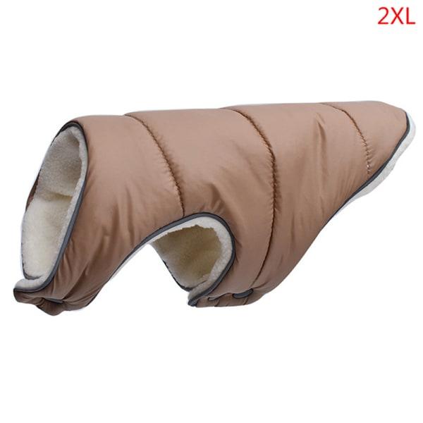 Varma vinterhundkläder Reflekterande kläder Väst Fleece Pet Jac
