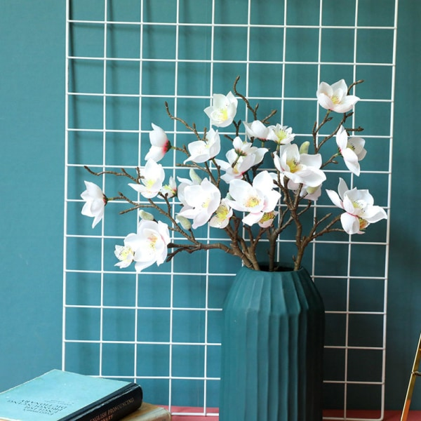Yulan Magnolia Floriculture Lifelike Flowers Simulation of Phal