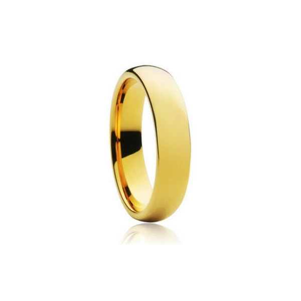 18K Guldfyllda Guld Filled gulddoublé Ring CZ Förlovning 21