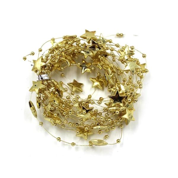 3m konstgjorda   pärlor kedja bröllop dekoration hår accessoarer