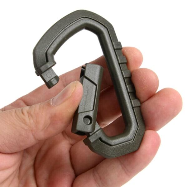 5st karbinsats - högpresterande karbinhake - liten nyckel 5PCS