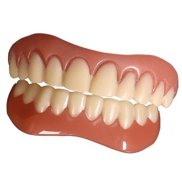Konstgjord silikon Tandst? Llning / naturfaner / för annons Upper teeth