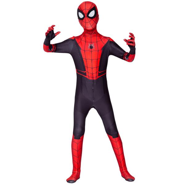 Barn Vuxna 3D Spiderman Jumpsuit - Superhjälte Cosplay Kostym 170CM