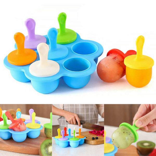 Popsicle mögel - Silikonfackstativ - DIY DIY Mol