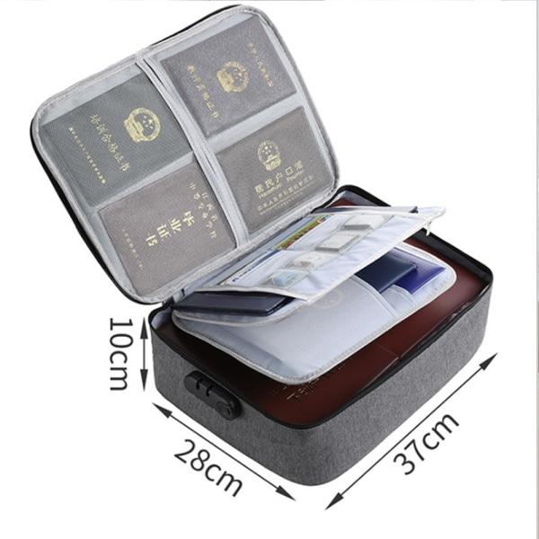 Bärbara telefonväskor Canvasväska Id-hållare Förvaring Vattentät väska grey