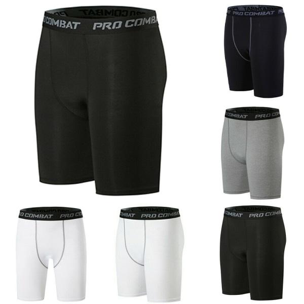 Snabbtorkande sportshorts för män Fitness Running Shorts gray XL