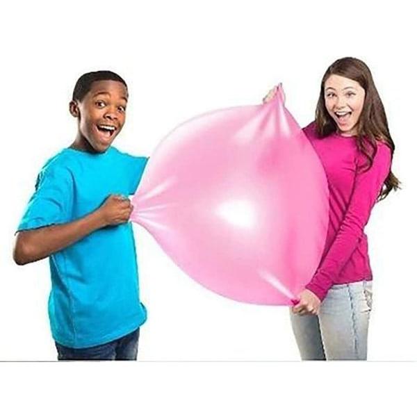 Uppblåsbar bubbla ballong-barn uppblåsbar boll utomhus leksak Green 30-40cm