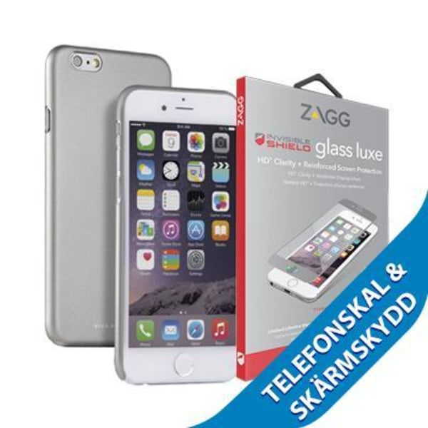 Viva Madrid Viso cover + Luxe Screen till iPhone 6/6S - Grå