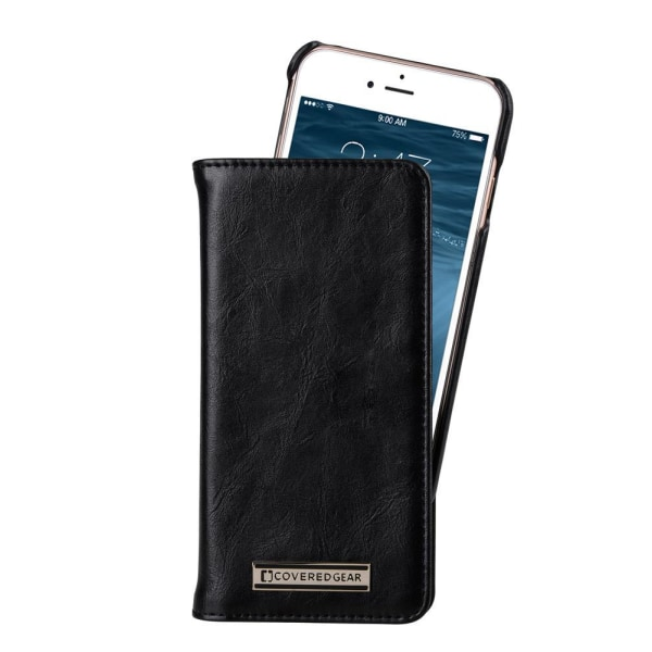 CoveredGear Signature Plånboksfodral till iPhone 6/6S - Svart