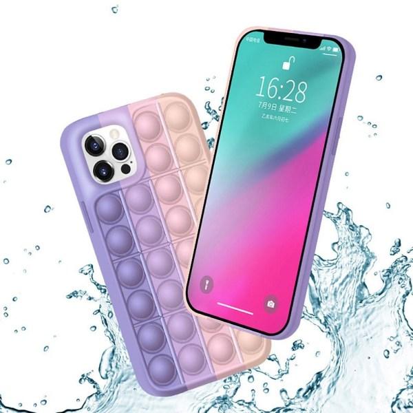 Pop it fidget skal till iPhone XR - Lila