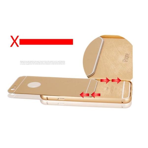 JFX Metallbumper-skal till Apple iPhone 6(S) Plus (Rose Gold)
