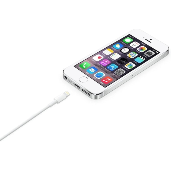 Lightning USB Kabel - 2 Meter - Vit