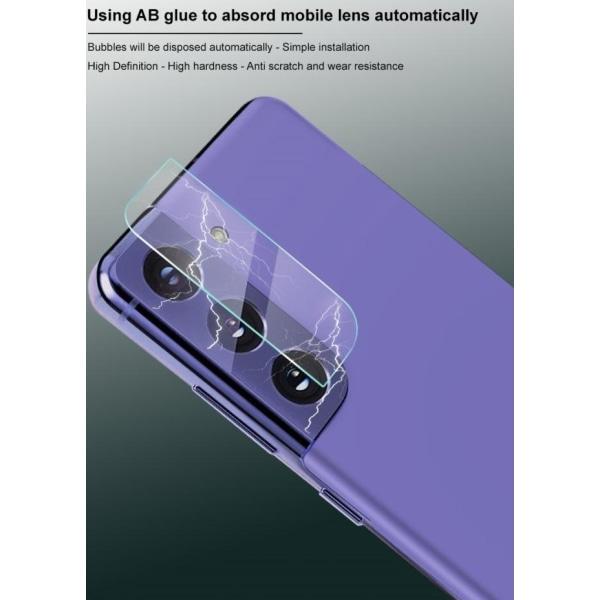 [2-Pack] Linsskydd Härdat Glas Galaxy S21 - Clear