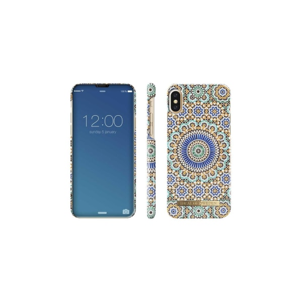 iDeal of Sweden Fashion Case iPhone X/XS - Moroccan Zellige