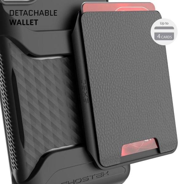 Ghostek - Magnetic Wallet Korthållare Skal Galaxy S21 Plus - Sva