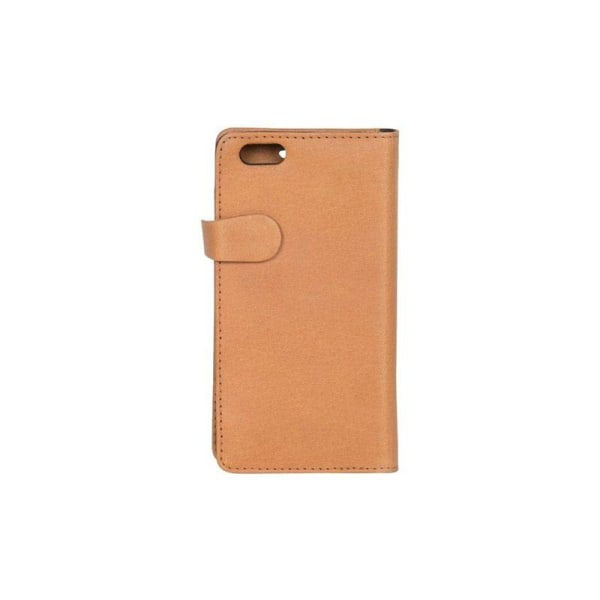 GEAR Buffalo äkta läder Plånboksfodral iPhone 6/6S - Cognac