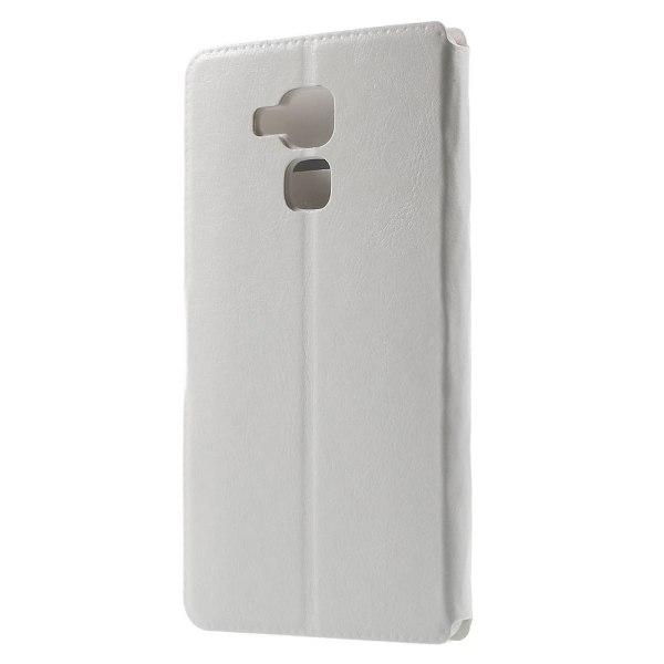 Bosilang Plånboksfodral till Huawei Honor 7 Lite - Vit