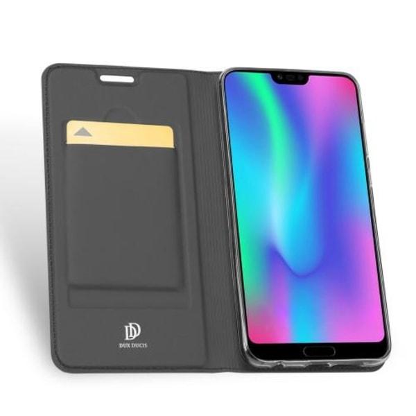 Dux Ducis Plånboksfodral Till Huawei Honor 10 - Svart