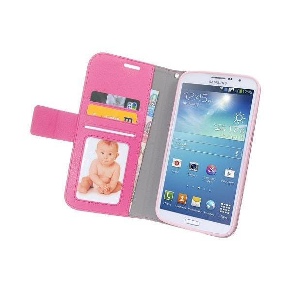 Embossed Plånboksfodral till Samsung Galaxy Mega 5.8 i9150 (Mage