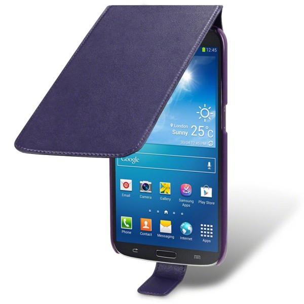 Flip Mobilväska till Samsung Galaxy Mega 6,3 i9200 - Lila