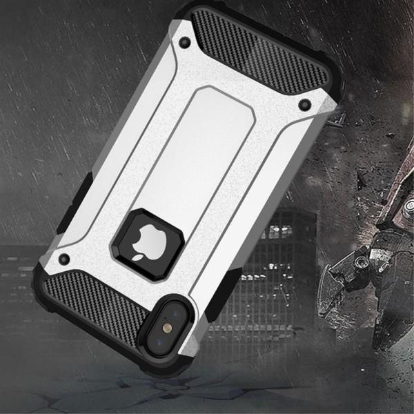 Hybrid Armor Mobilskal till Apple iPhone XS / X - Röd