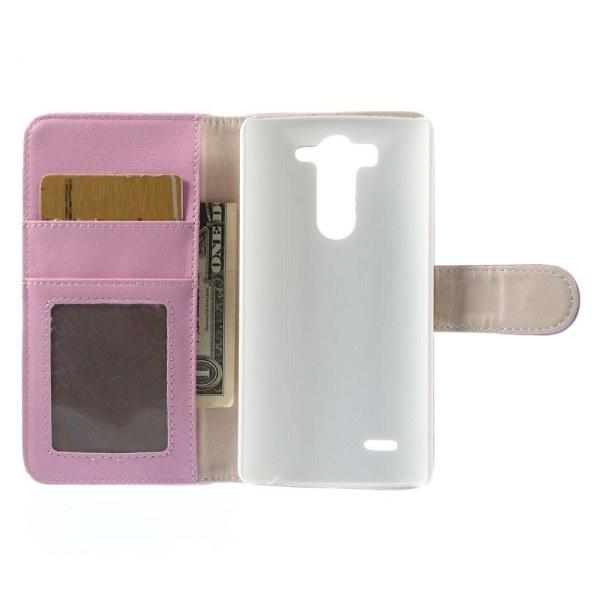 Lychee Embossed Plånboksfodral till LG G3 S - Lila