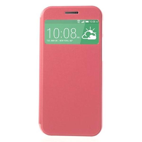 Mobilfodral med fönster till HTC One 2 M8 (2014) - (Magenta)