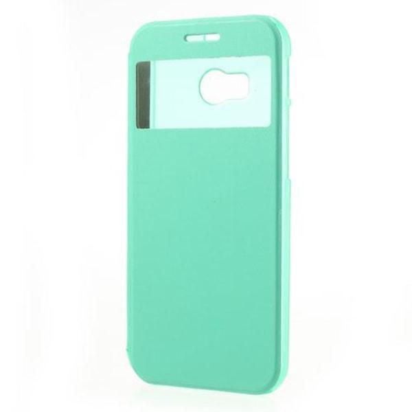 Mobilfodral med fönster till HTC One 2 M8 (2014) - (Mint)