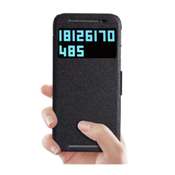 Nillkin Fresh Series fodral till HTC One M8 - (Svart)
