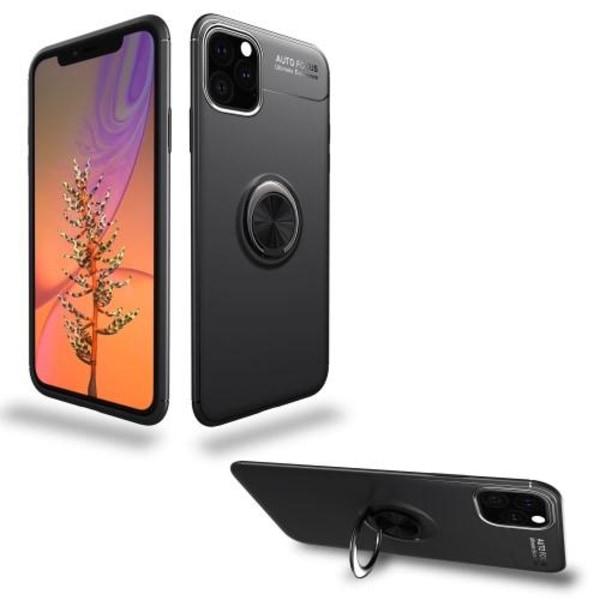 Skal med Mobilhållare för iPhone 11 Pro Max - Svart