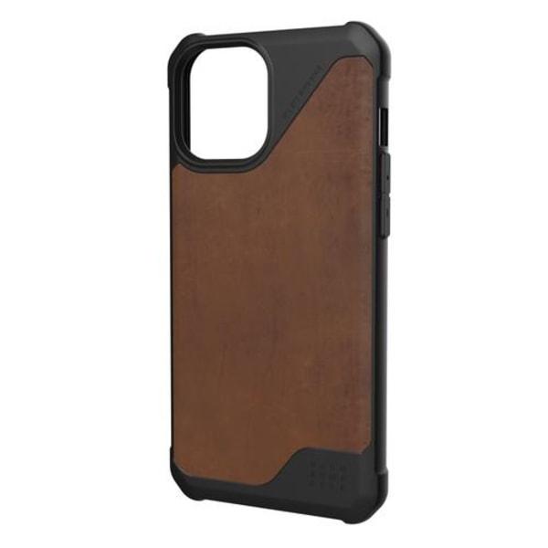 UAG iPhone 12 Pro Max, Metropolis Cover, Läder, Brun