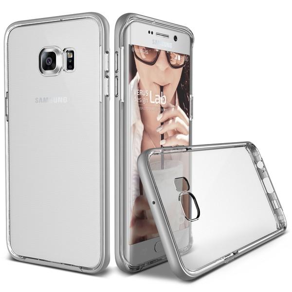 Verus Crystal Bumper Skal till Samsung Galaxy S6 Edge Plus - Lig