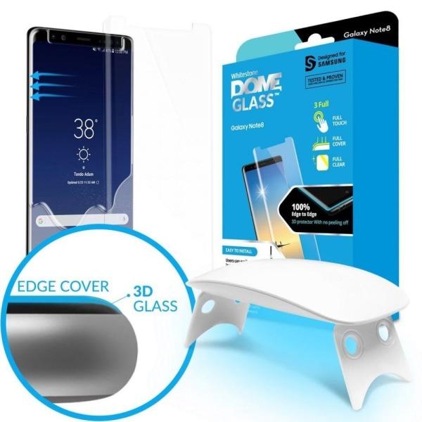 WhiteStone Dome Glass Skärmskydd till Samsung Galaxy Note 8