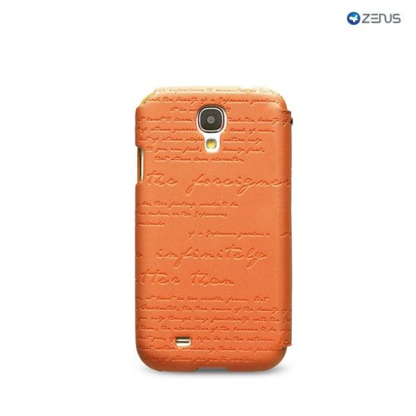 Zenus Masstige Lettering Diary till Samsung Galaxy S4 i9500 (Ora